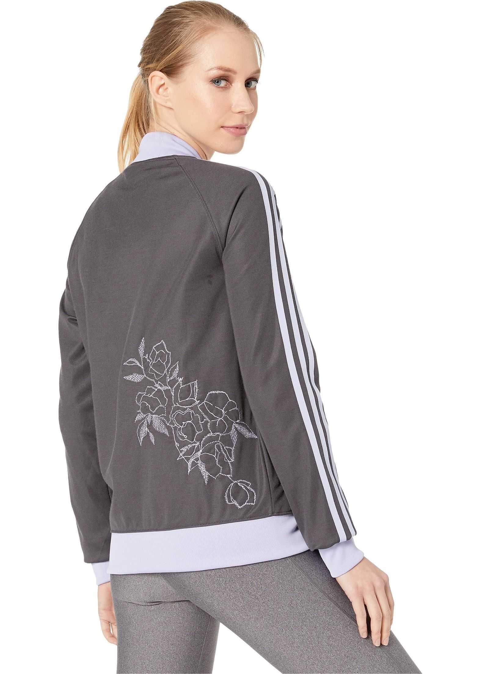 adidas Originals SST Track Jacket Grey Six