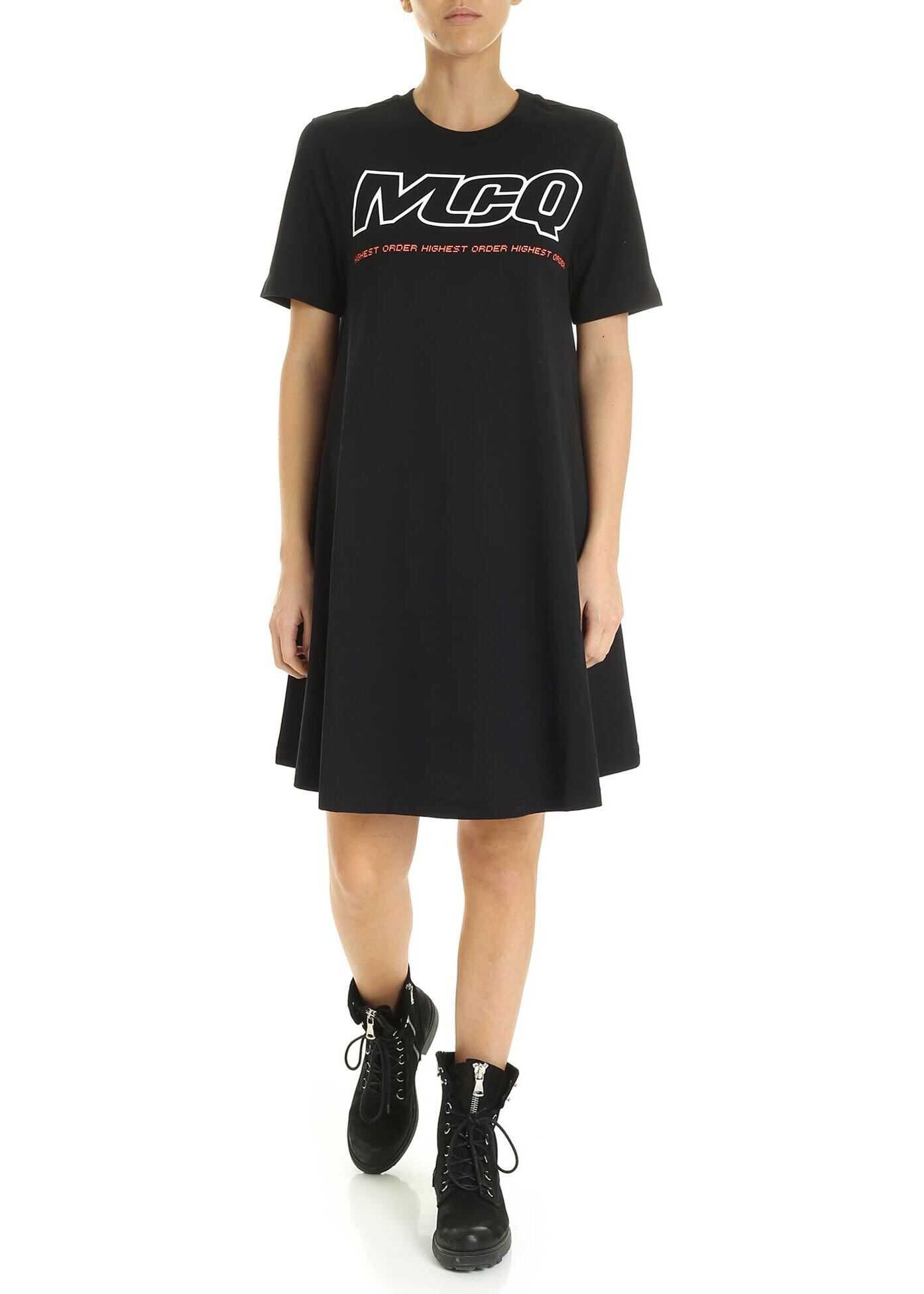 Mcq Highest Order Dress In Black thumbnail