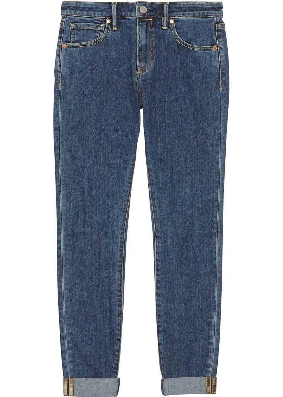 Burberry Cotton Jeans BLUE