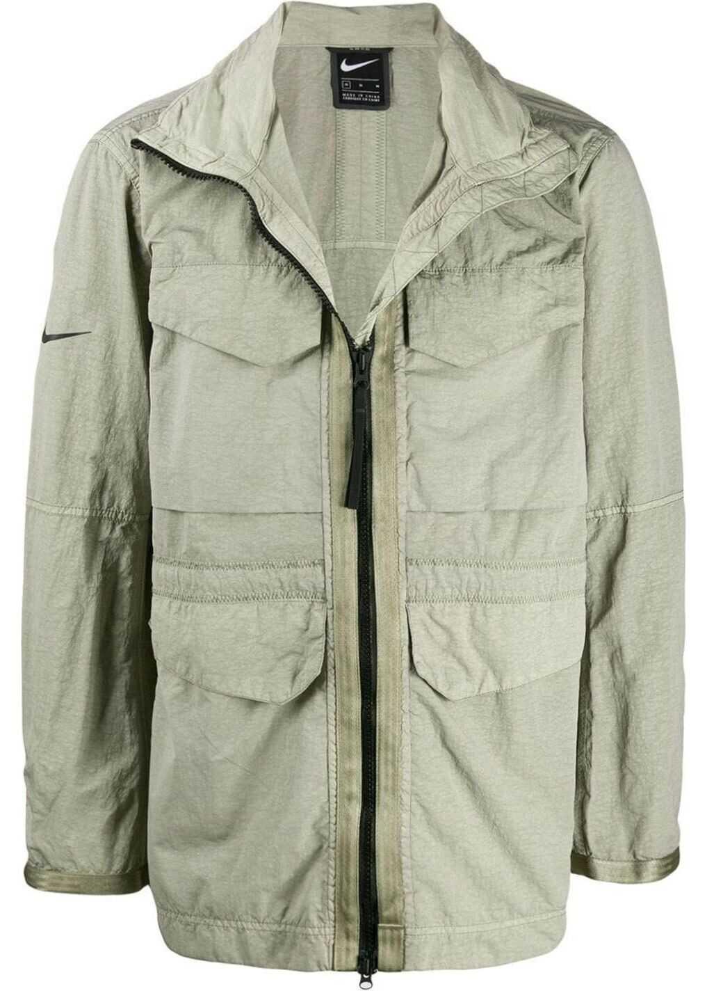Nike Polyamide Outerwear Jacket BEIGE
