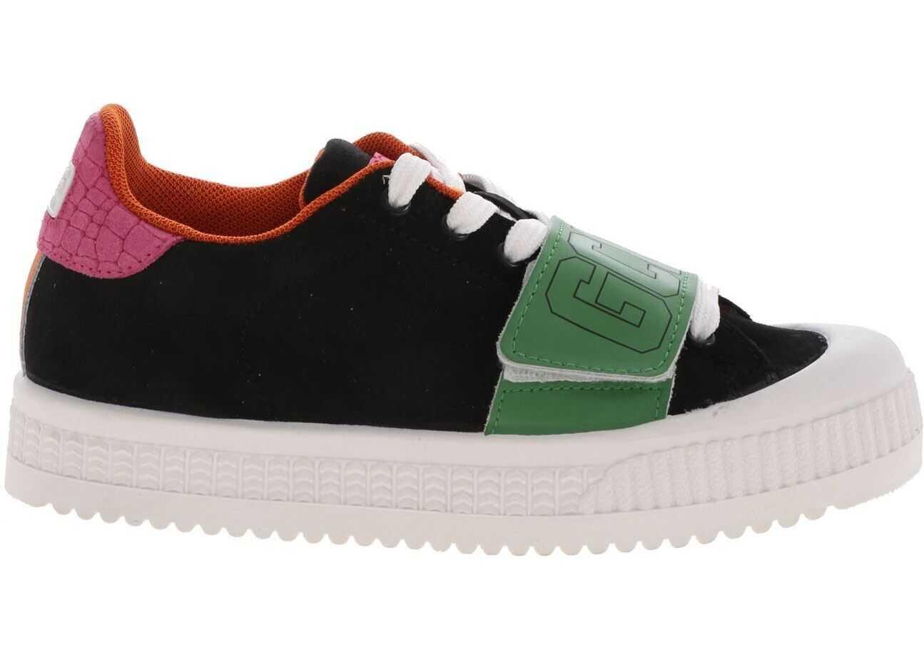 GCDS Classic Sneakers In Black Black