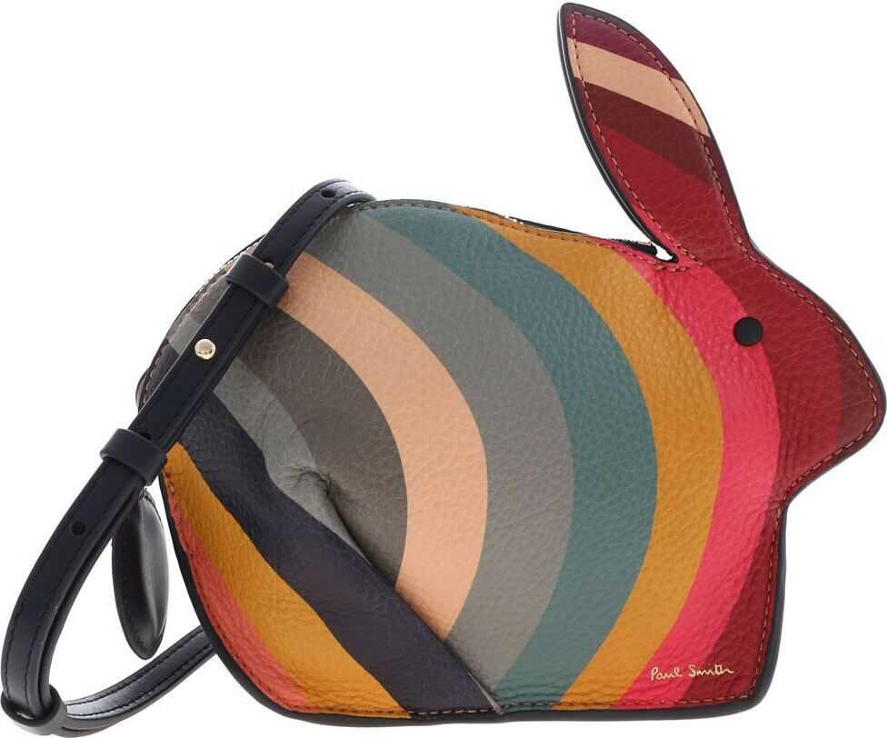 Rabbit Swirl Clutch Bag In Multicolor thumbnail