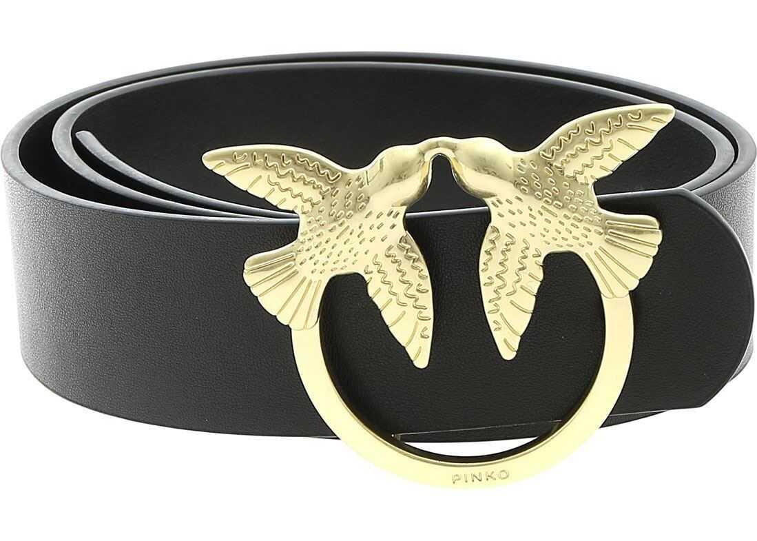 Pinko Lunia 2 Belt In Black Black