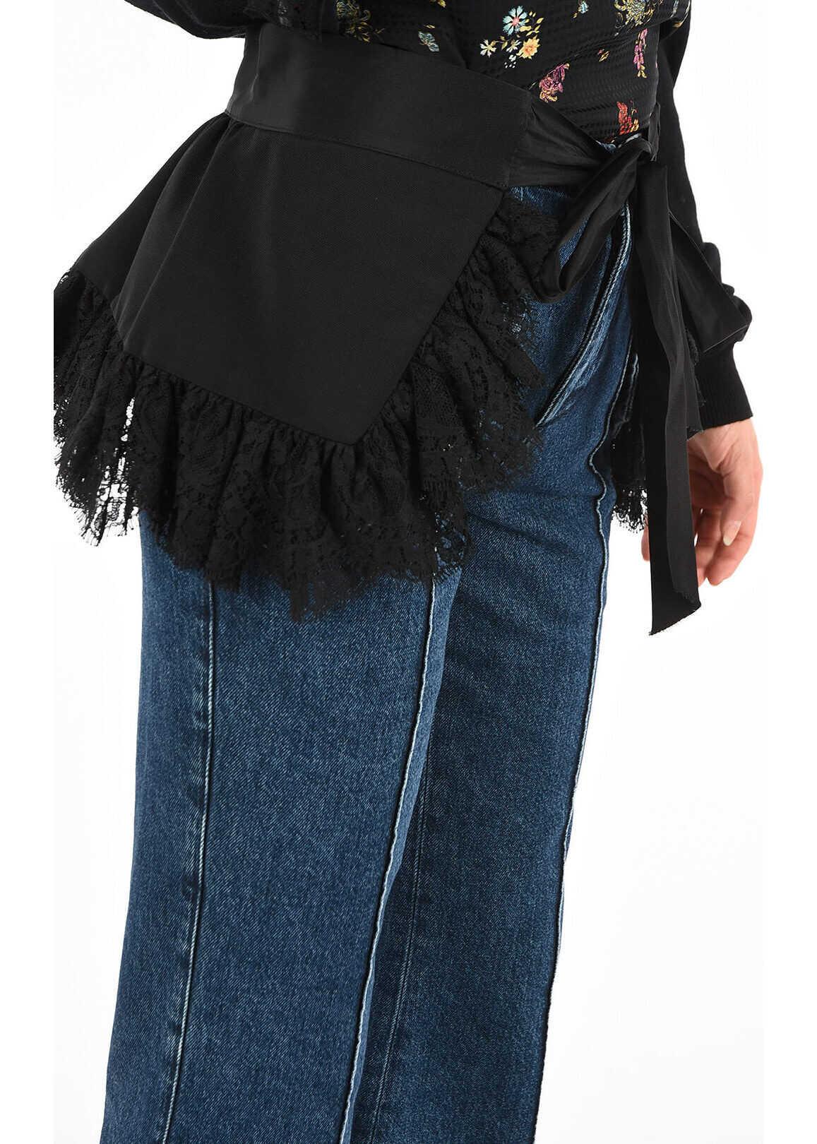 DSQUARED2 Belt with Skirt BLACK