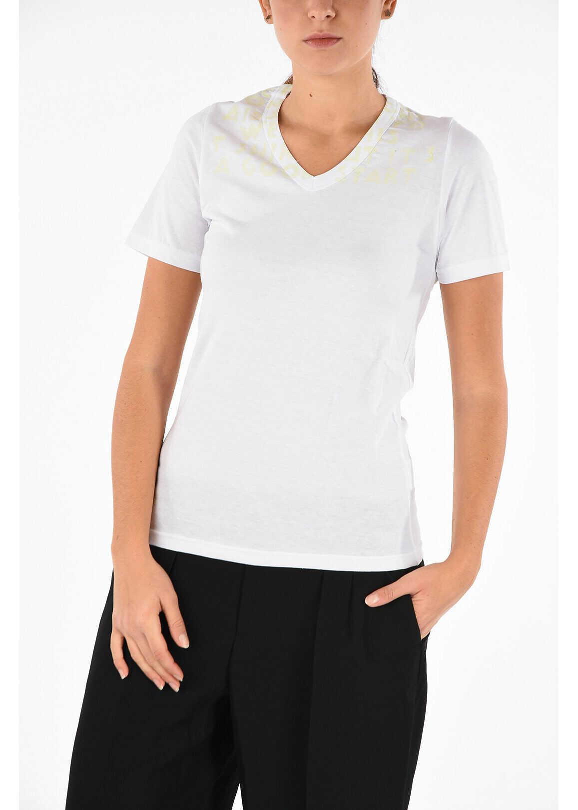 V neck Aids T-shirt