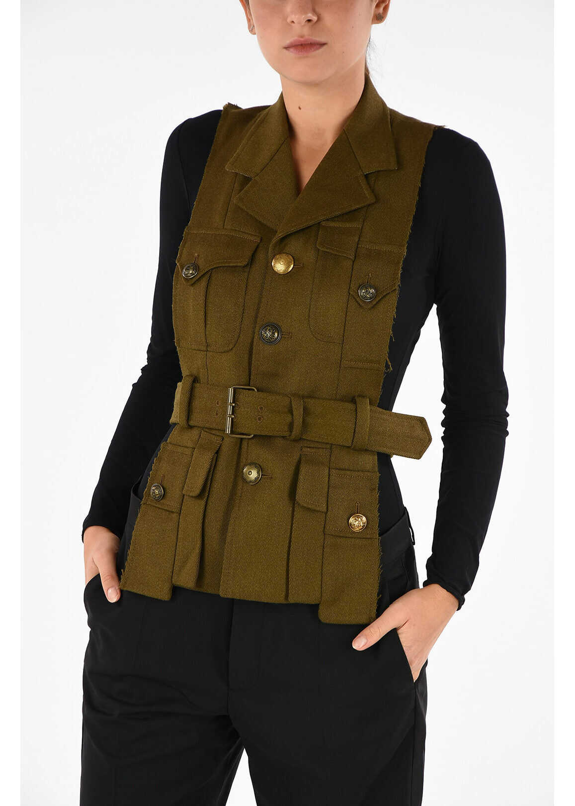 MM0 Gilet with Belt thumbnail