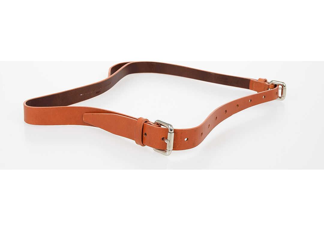 MM6 20mm Leather Belt