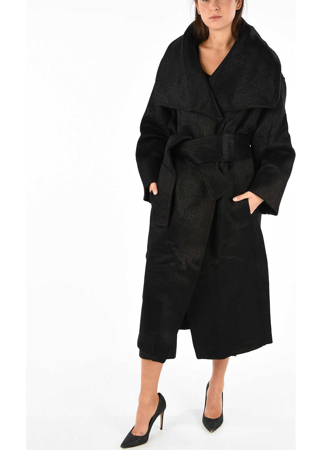 MM1 Wool Blend Double Breasted Coat