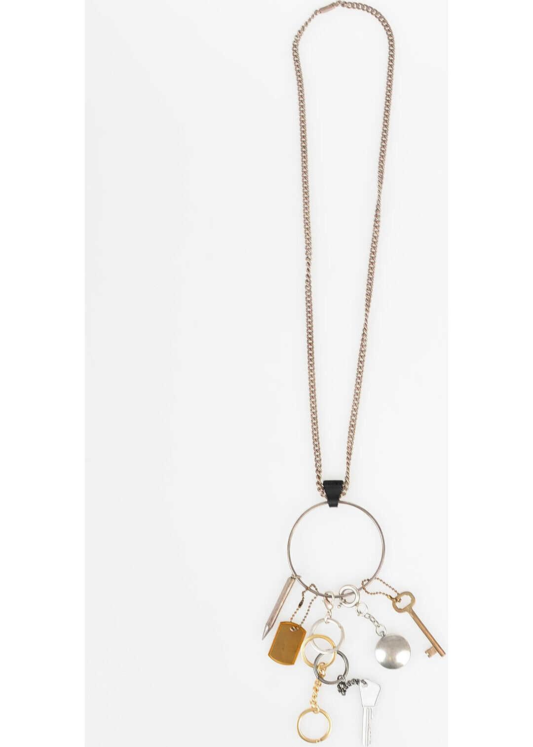 Maison Margiela MM11 Necklace Key SILVER