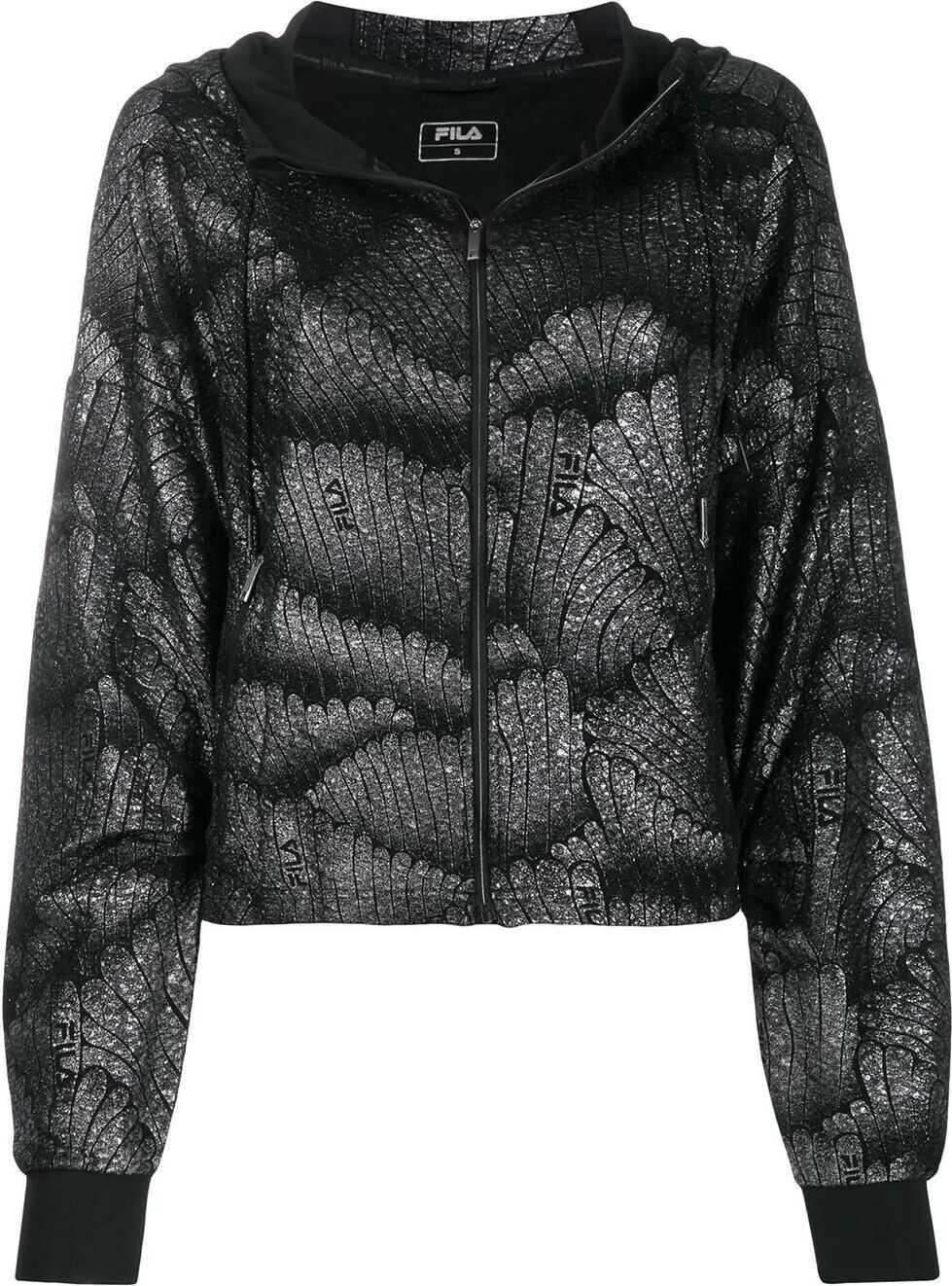 Fila Synthetic Fibers Sweatshirt BLACK