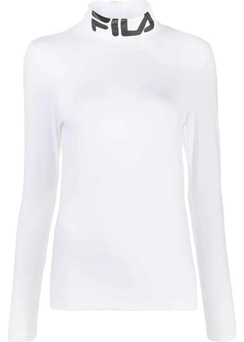 Fila Cotton T-Shirt WHITE
