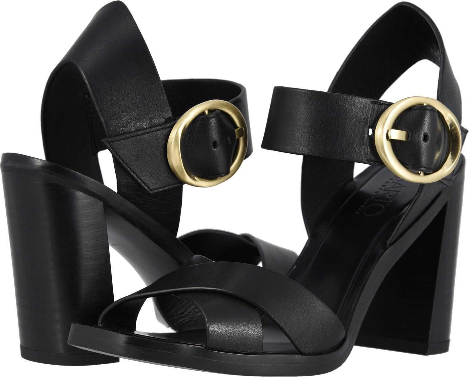 Franco Sarto Willis Black Leather