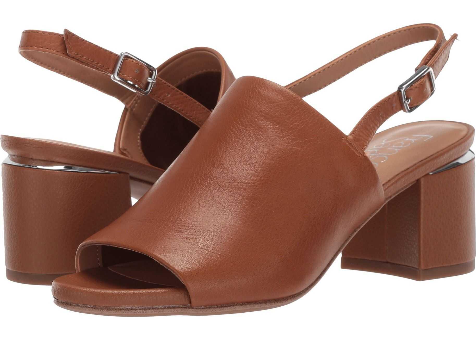 Franco Sarto Marielle Light Brown Leather