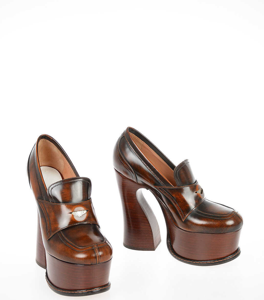 MM22 12cm Leather Loafers thumbnail