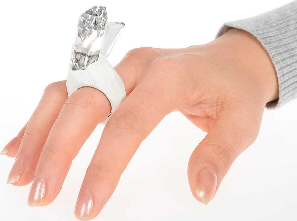 Maison Margiela Crystal Ring by ATELIER SWAROVSKI GRAY