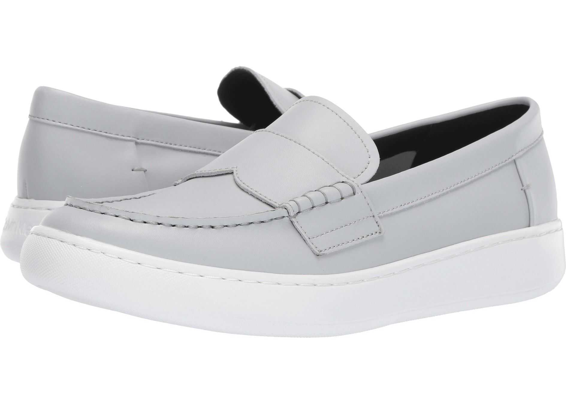 Calvin Klein Fang Blue/Grey Nappa Smooth Calf