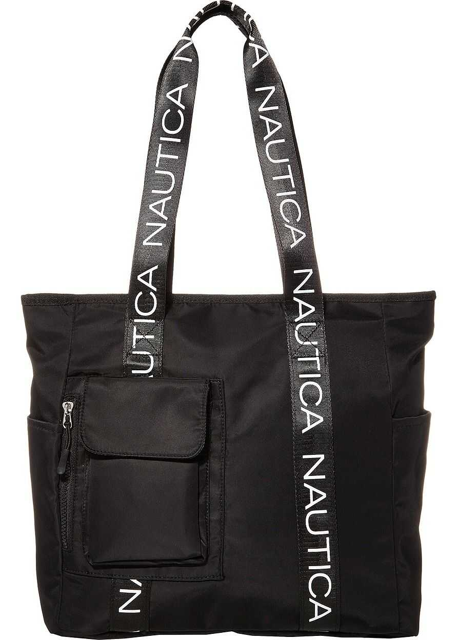 Nautica Bean Bag Tote Black/Black