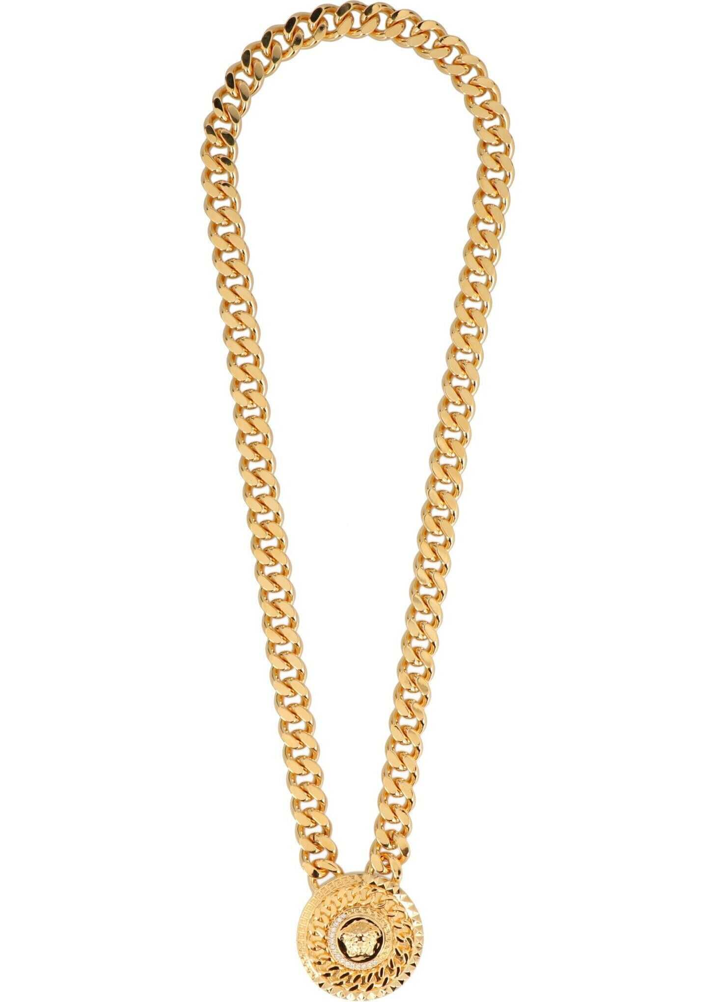 Versace Metal Necklace GOLD
