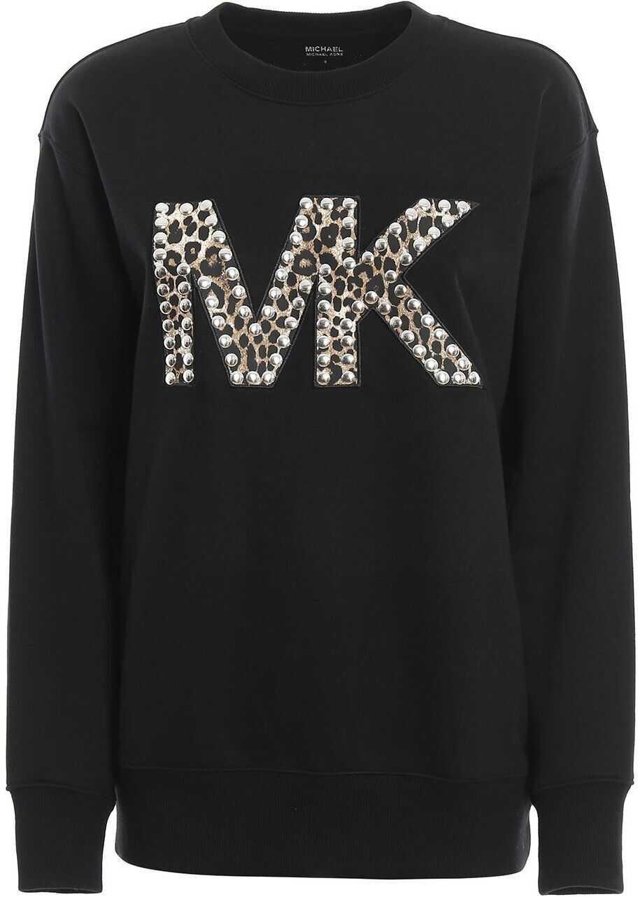 Michael Kors Cotton Sweatshirt BLACK