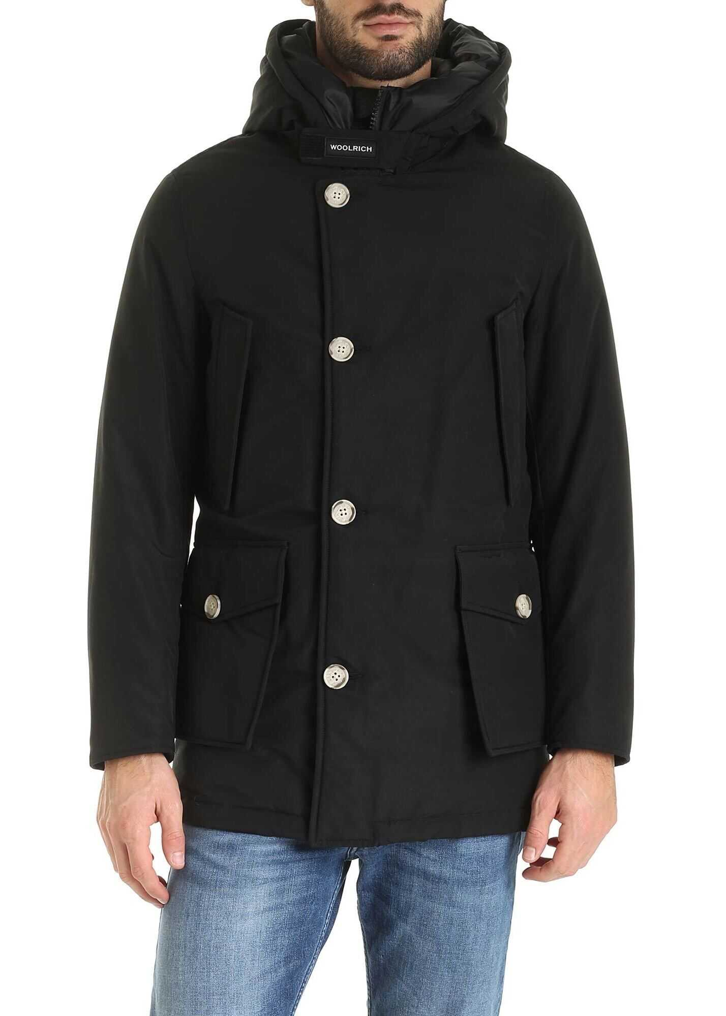 Woolrich Arctic Parka In Black Black imagine