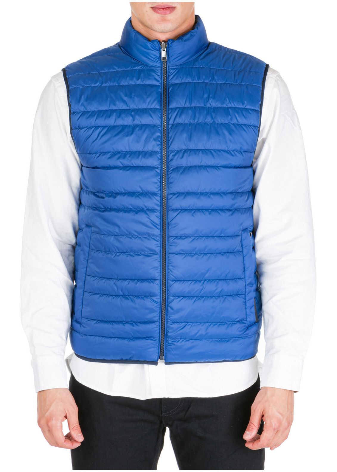 Michael Kors Vest Reversibile Blue imagine