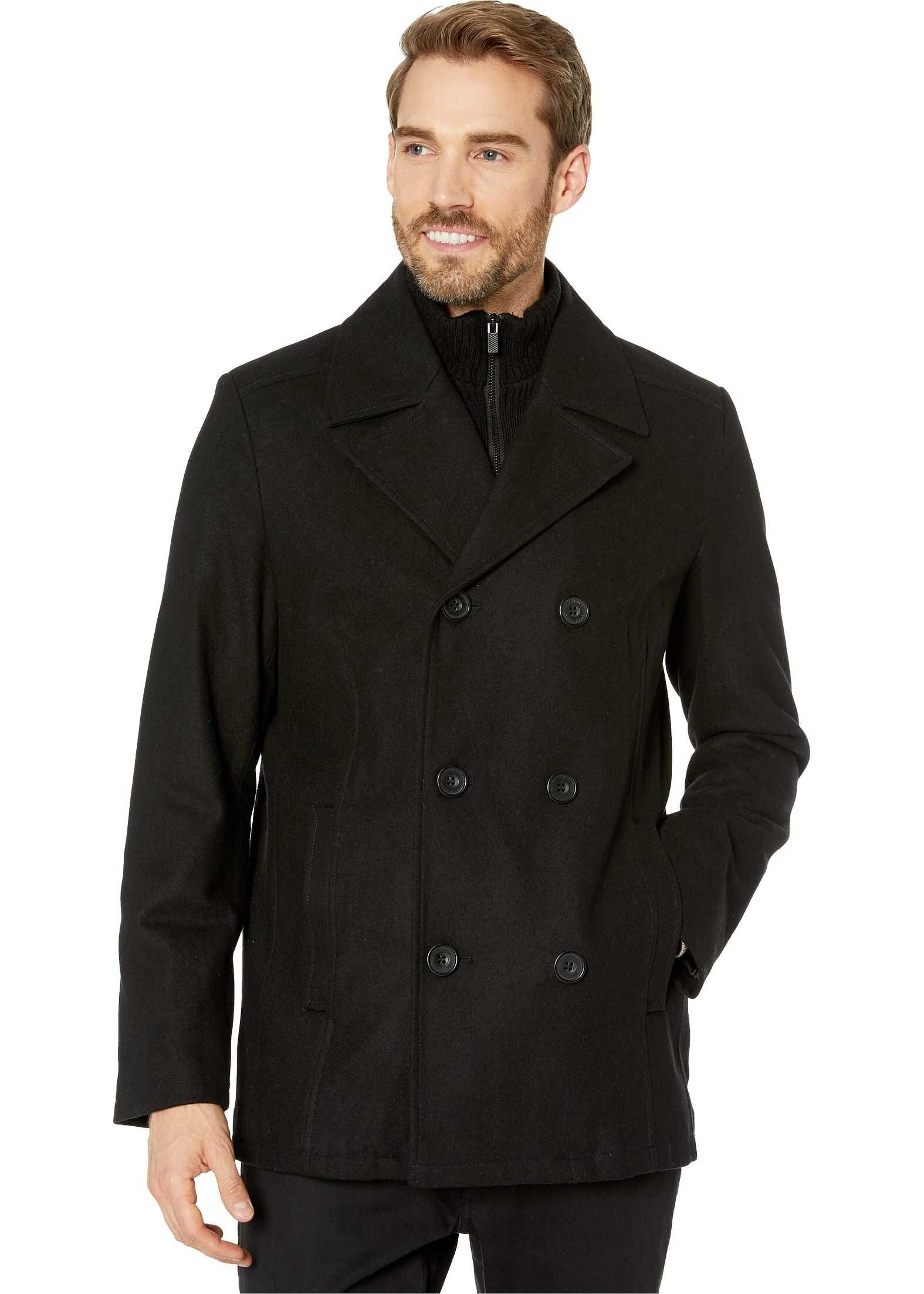Kenneth Cole New York Remington Peacoat Black