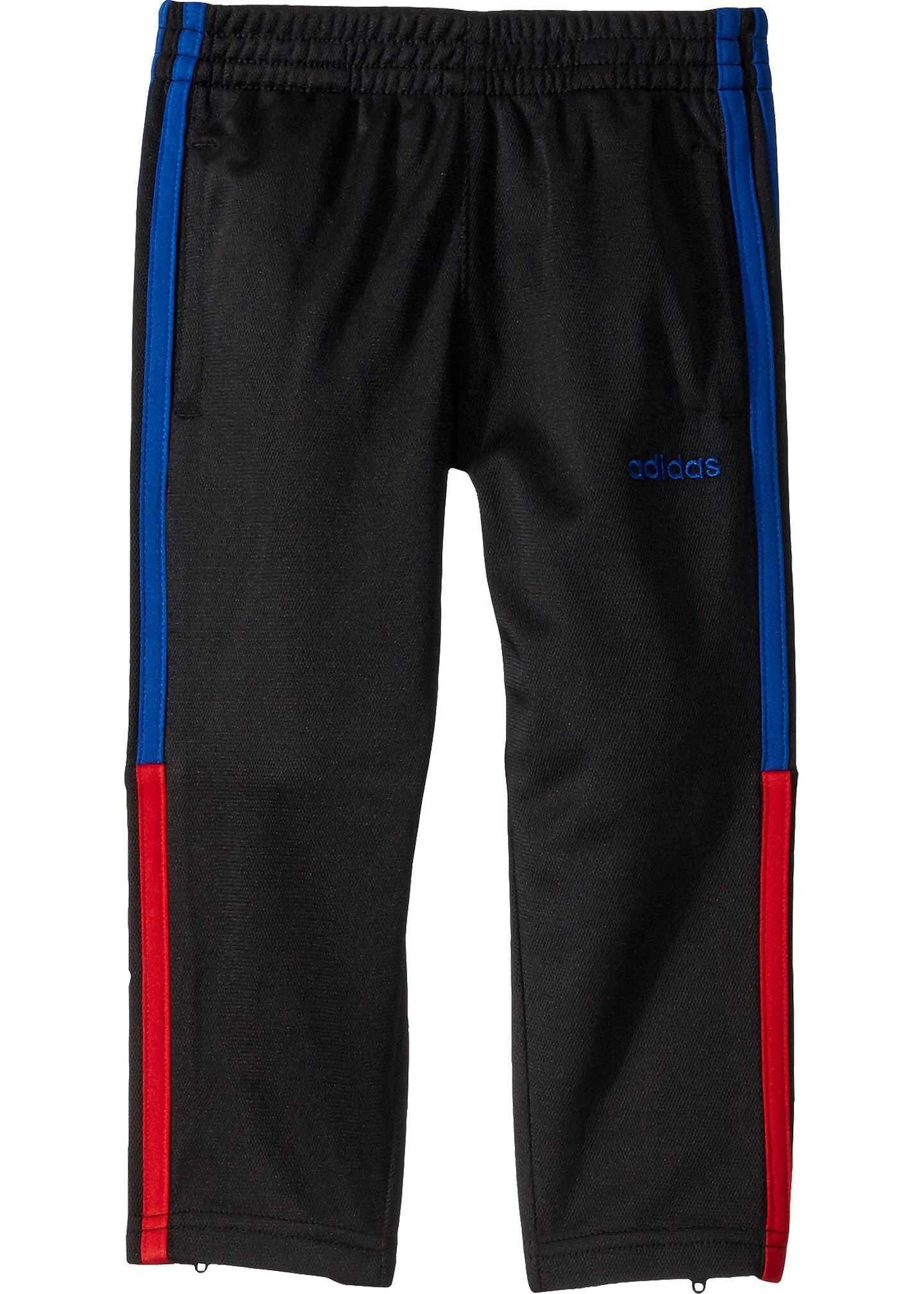 adidas Kids Training 3 Stripe Pants (Toddler/Little Kids) Black/Red