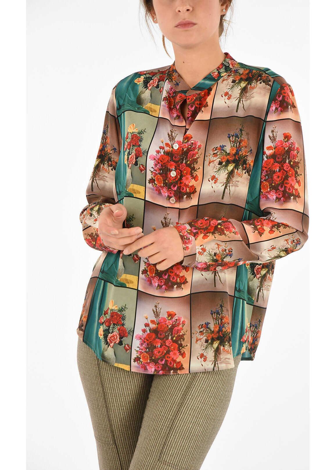 Silk Corean Blouse