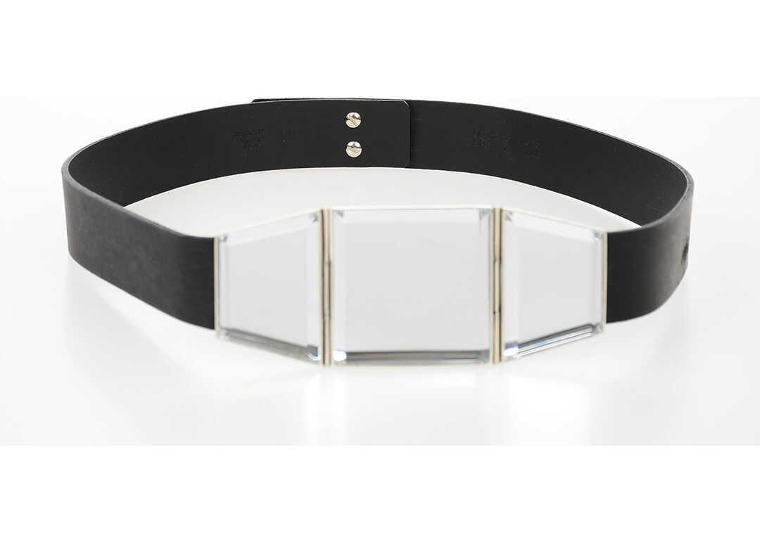 Maison Margiela MM11 35mm Leather Belt BLACK