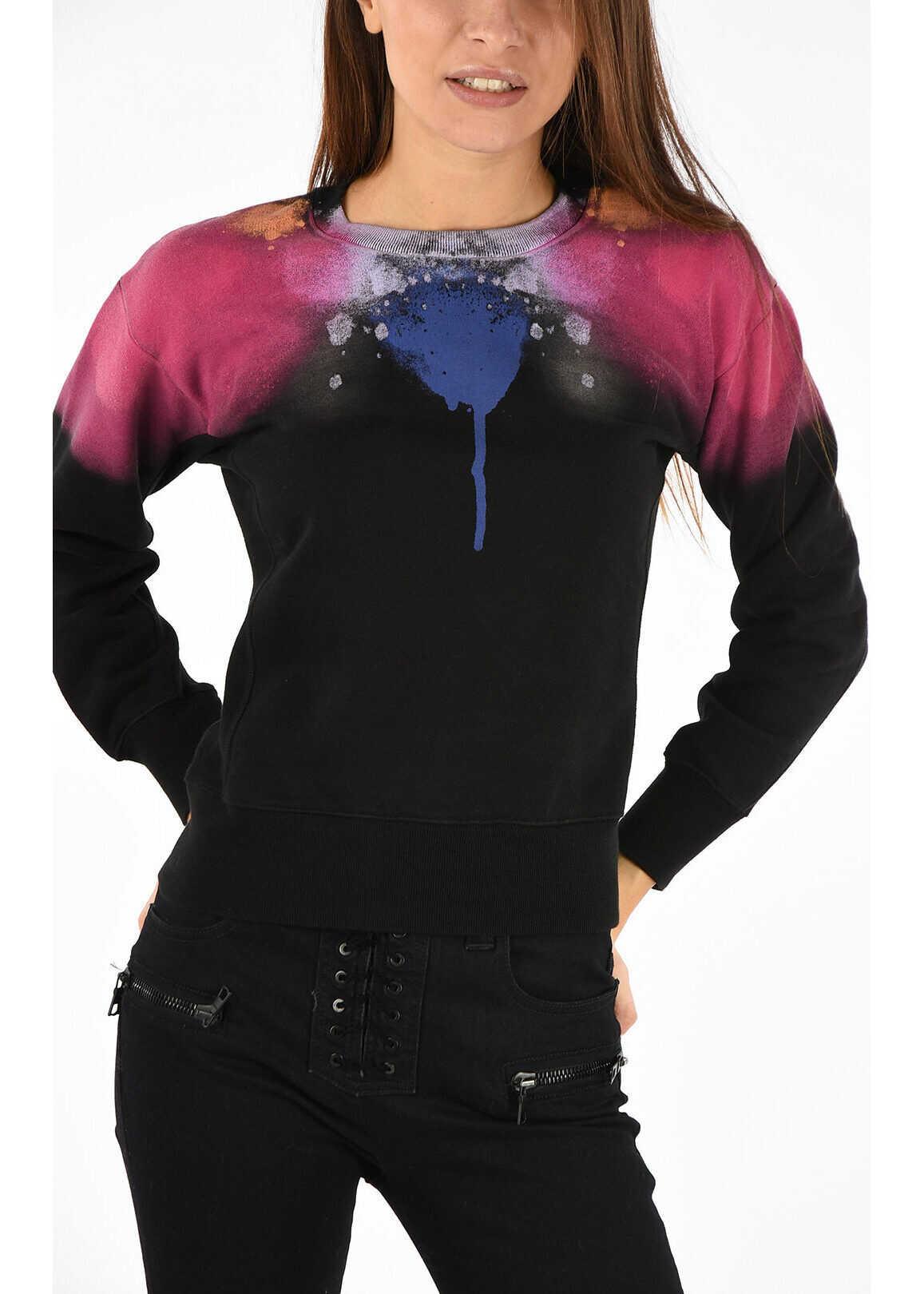Marcelo Burlon abstract Spray Sweatshirt MULTICOLOR