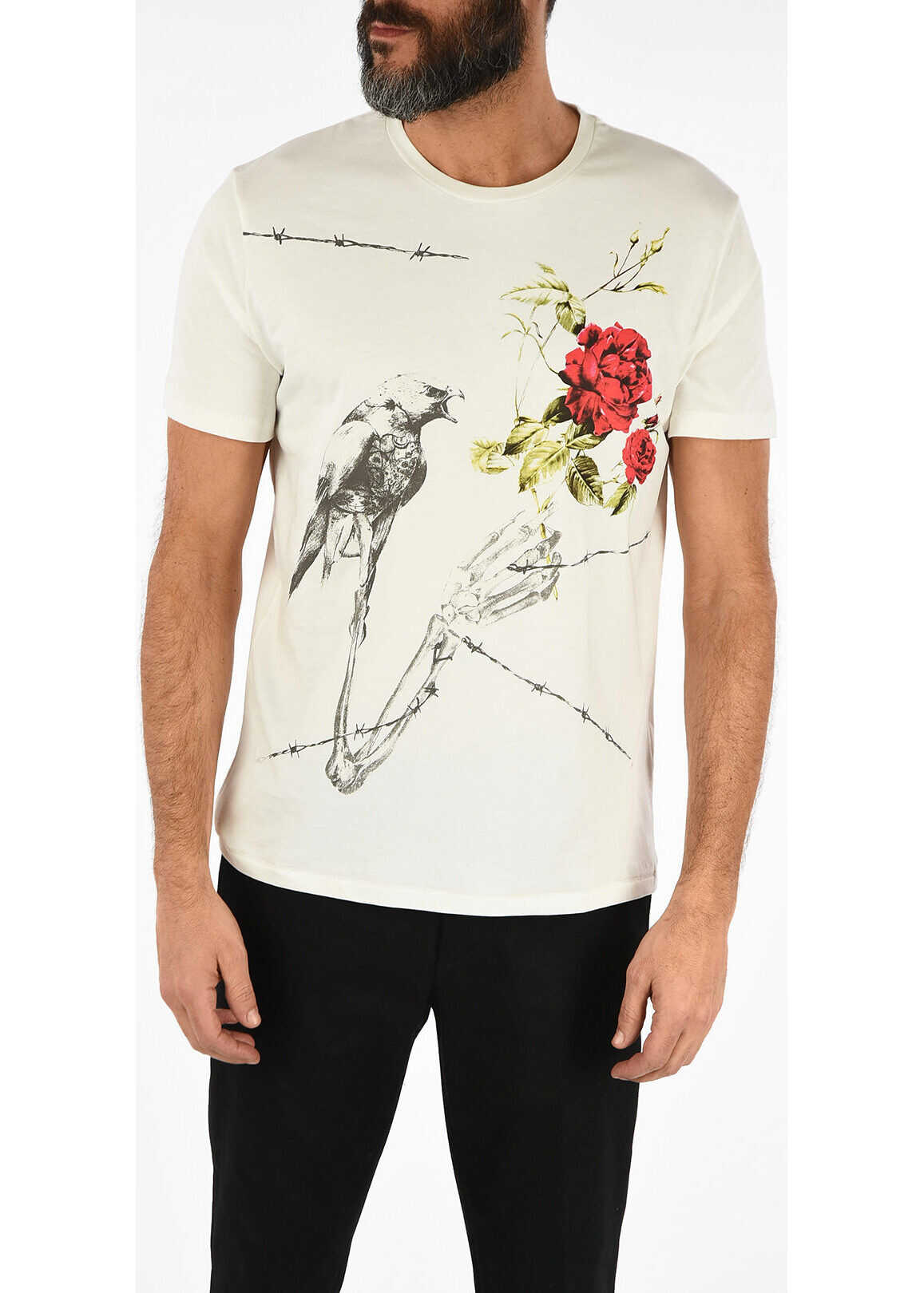 Just Cavalli Round Neck T-shirt WHITE