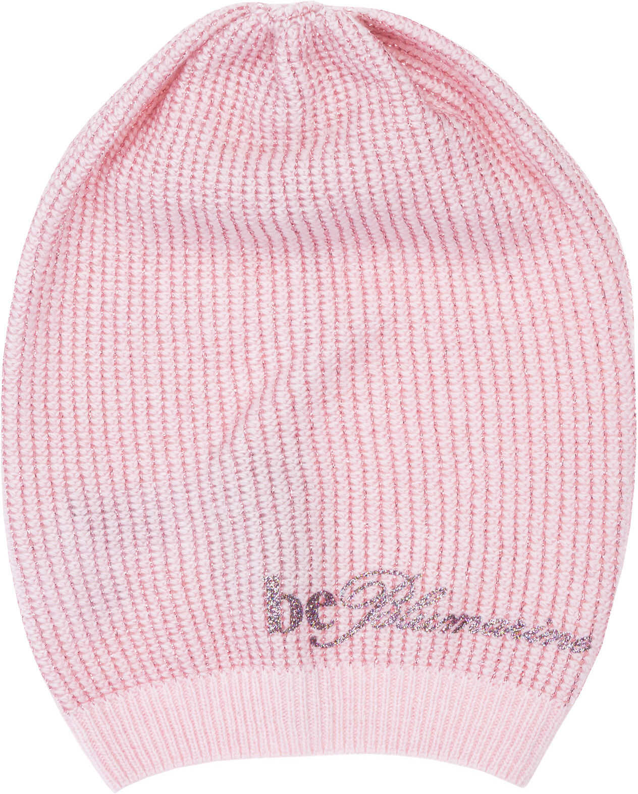 Be Blumarine Beanie Hat Pink