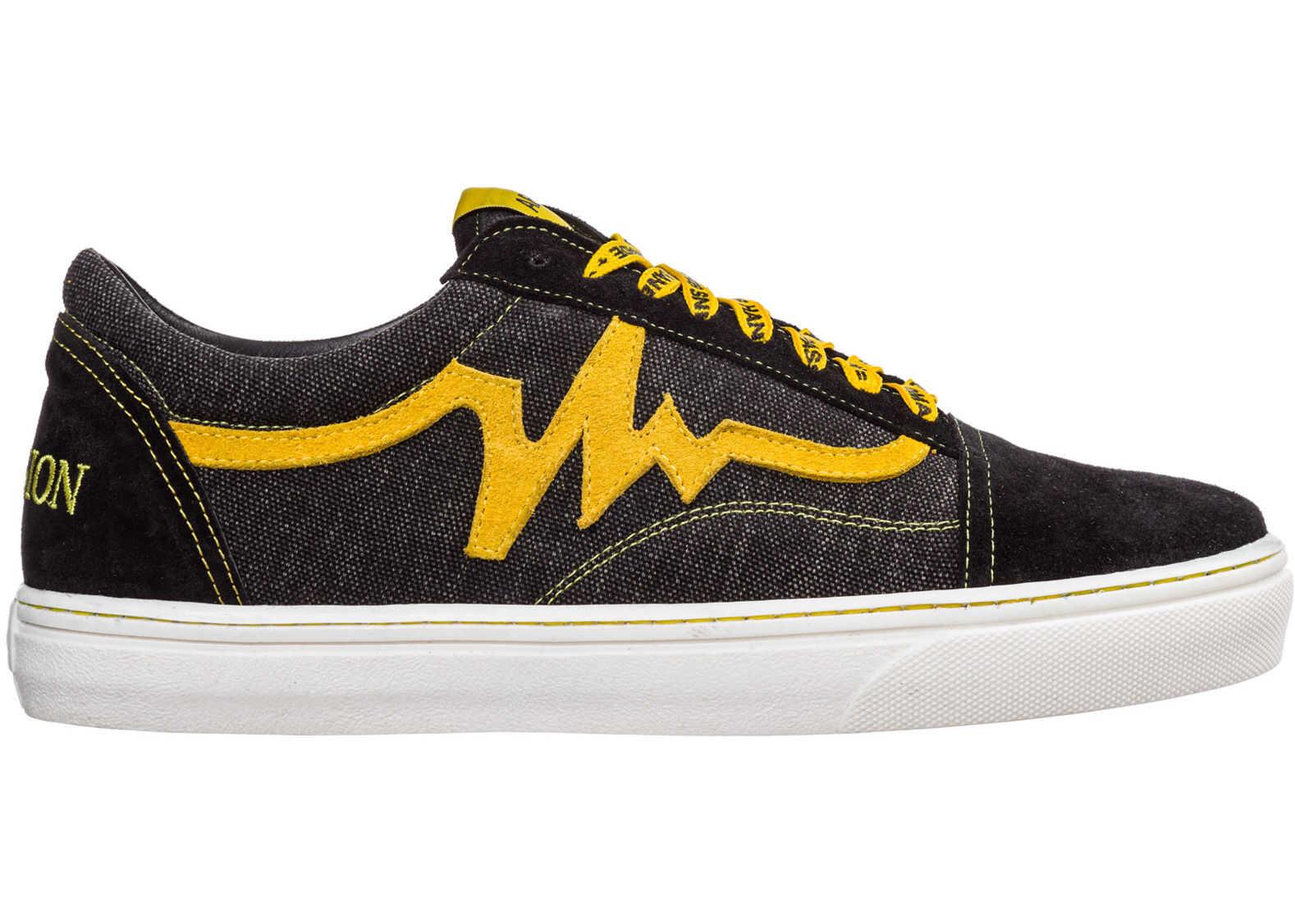 AP08 Sneakers Bee Black