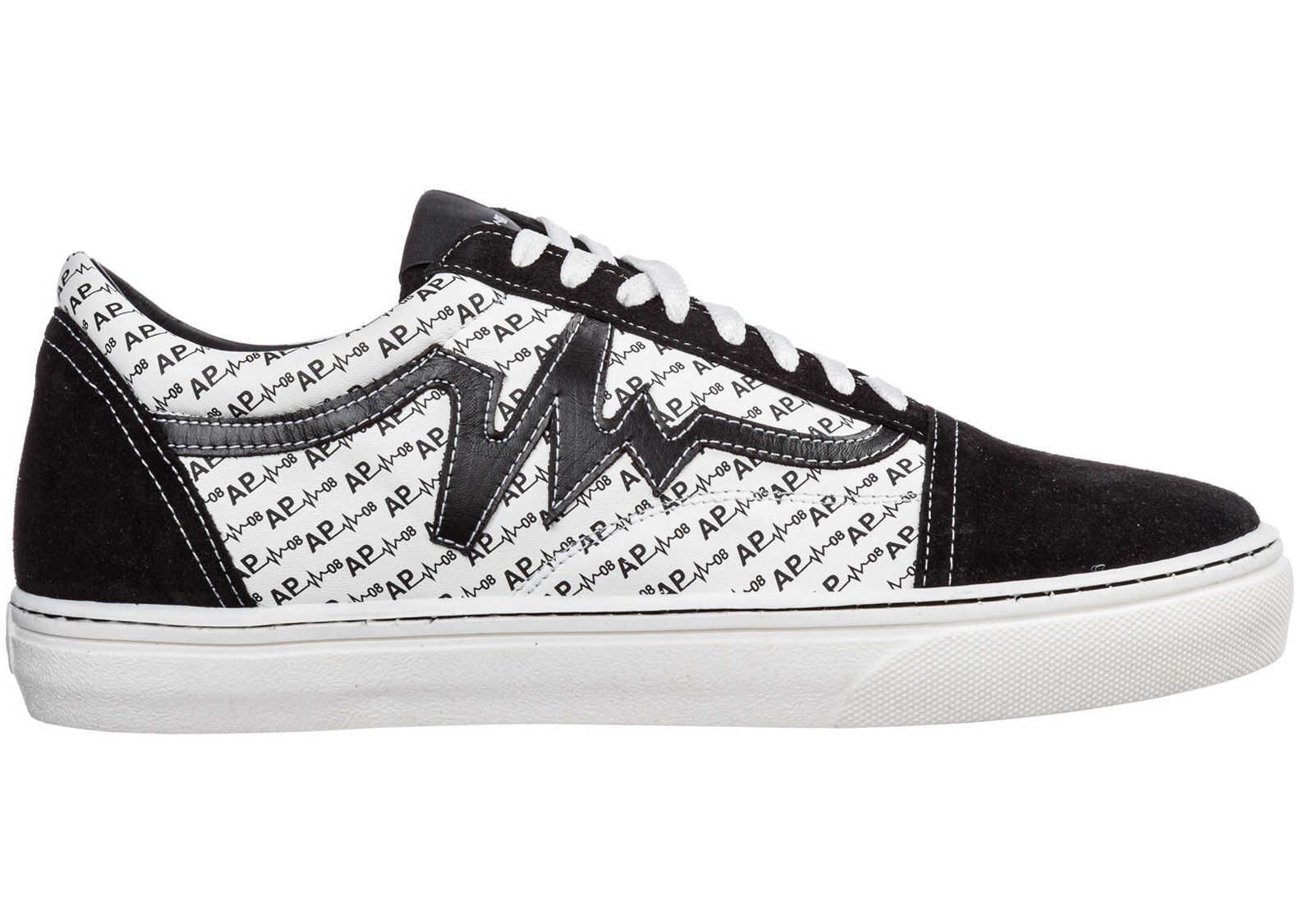 AP08 Sneakers Monogram White