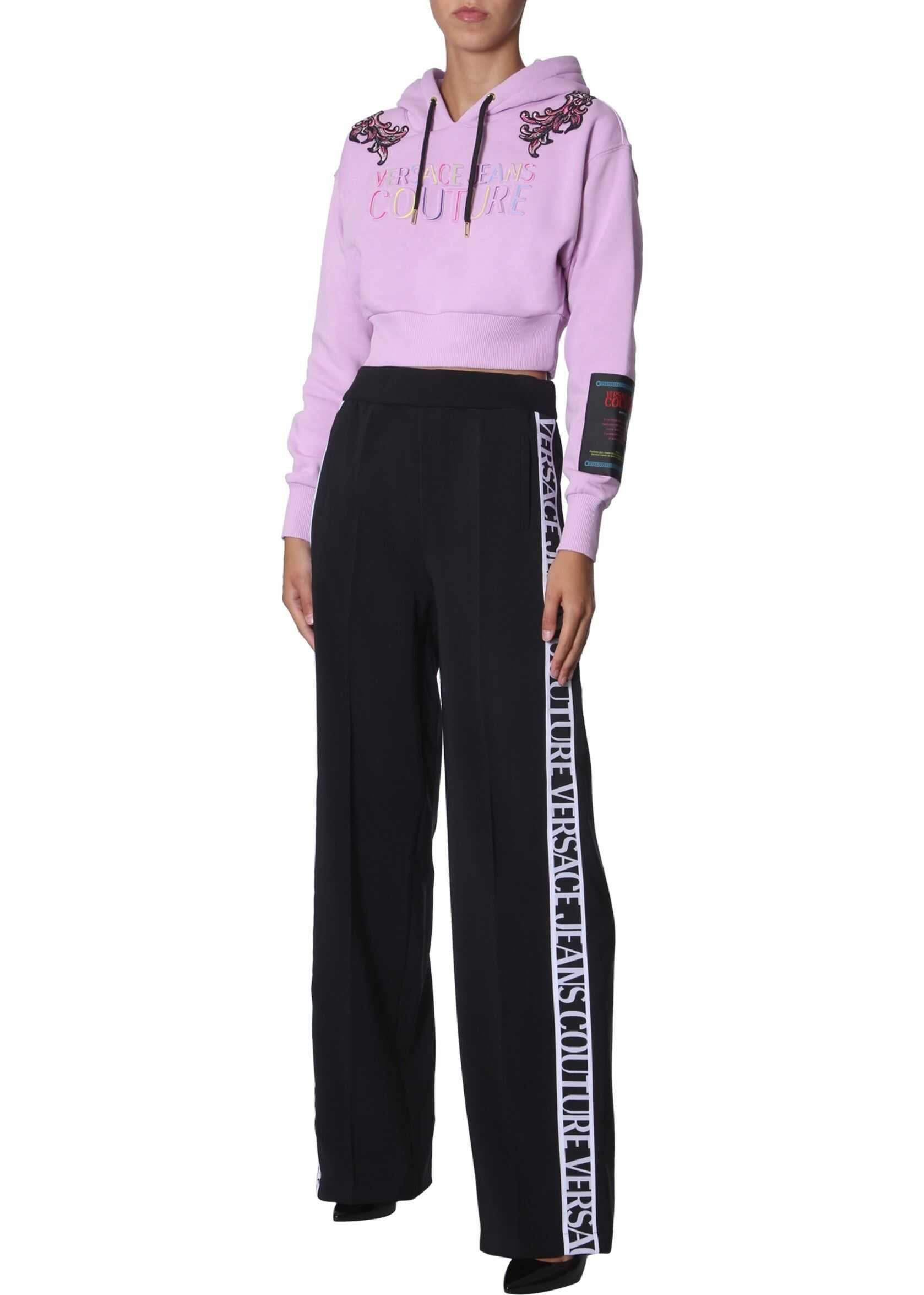 Versace Jeans Couture Cropped Sweatshirt PINK