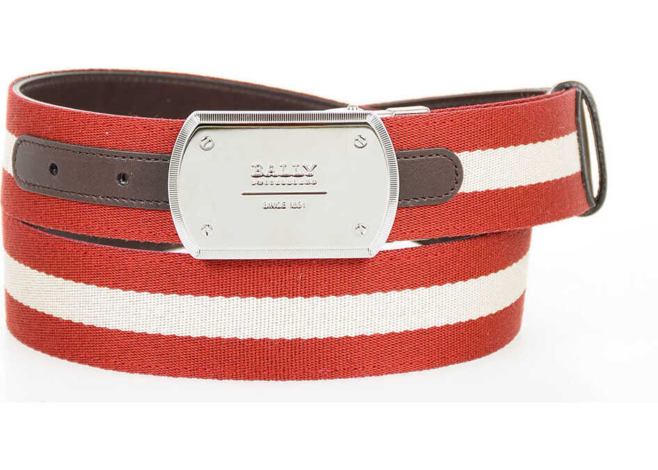 35mm Leather and Fabric TELLER Belt thumbnail