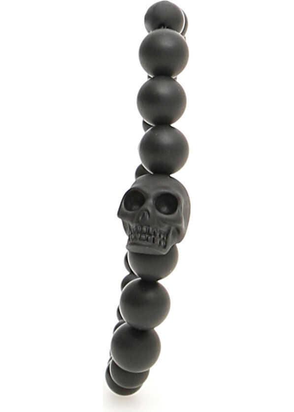 Alexander McQueen Skull Bracelet BLACK