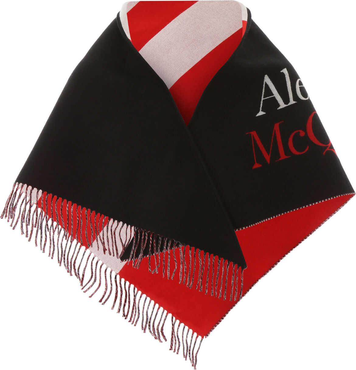 Alexander McQueen 595949 4C07Q BLACK IVORY