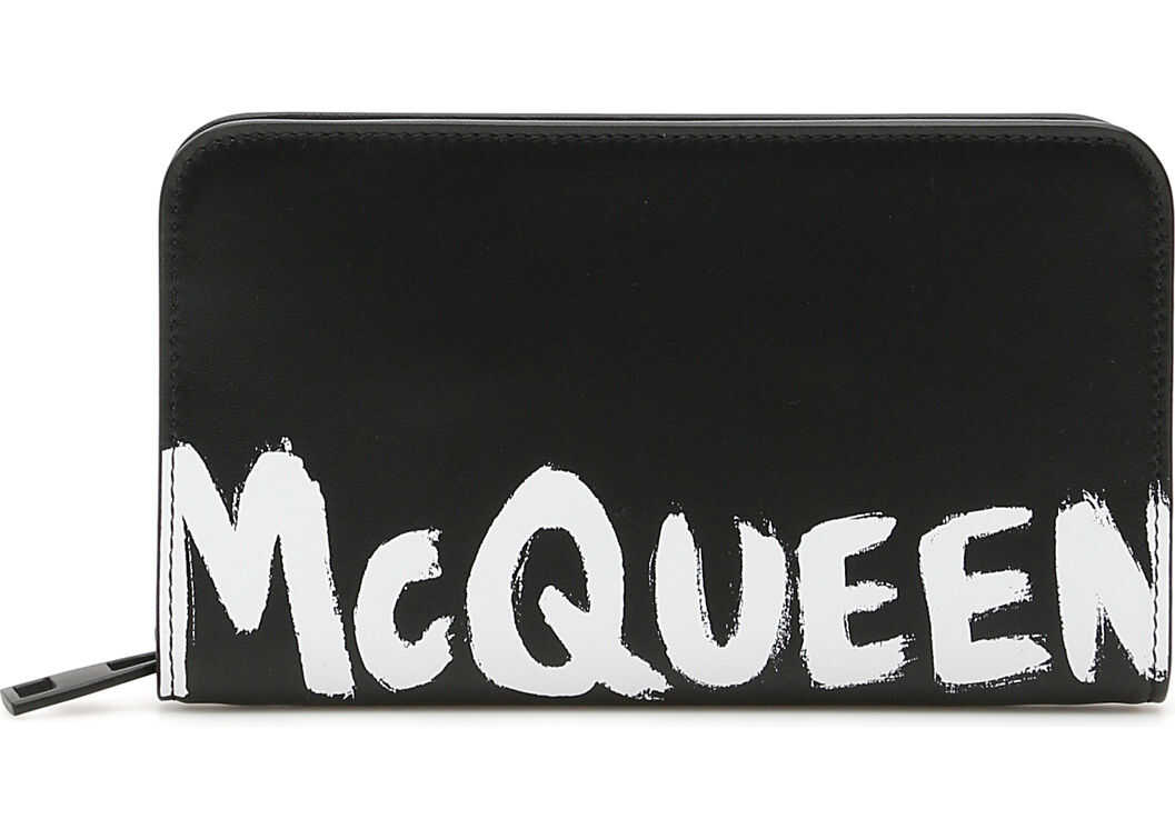 Alexander McQueen 602136 1NT0B BLACK WHITE