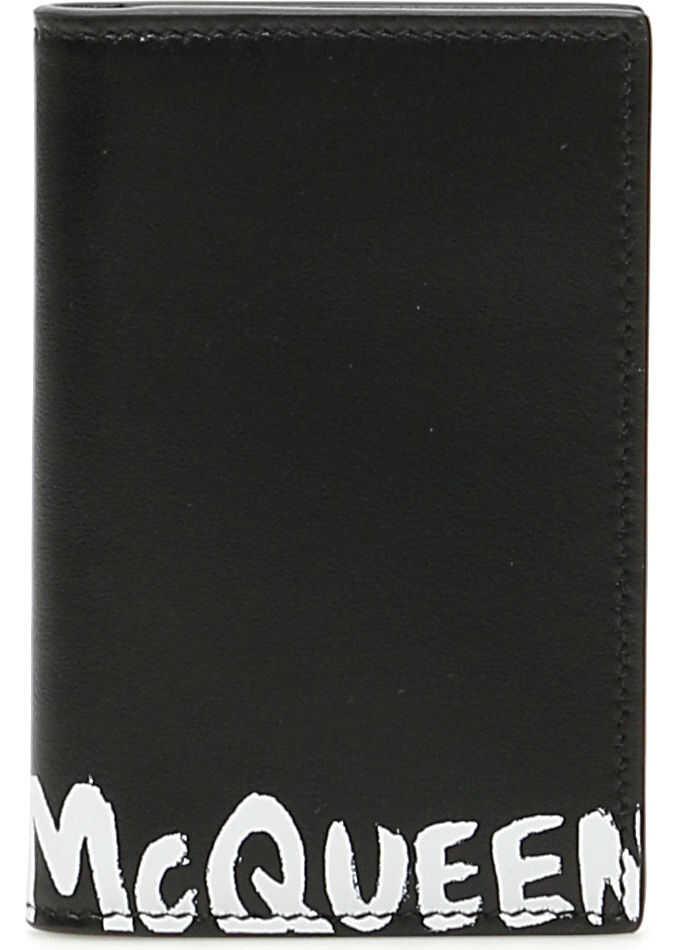 Alexander McQueen 602142 1NT0B BLACK WHITE