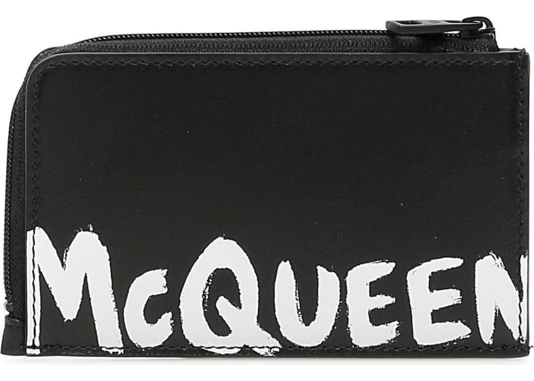 Alexander McQueen 600390 1NT1B BLACK WHITE