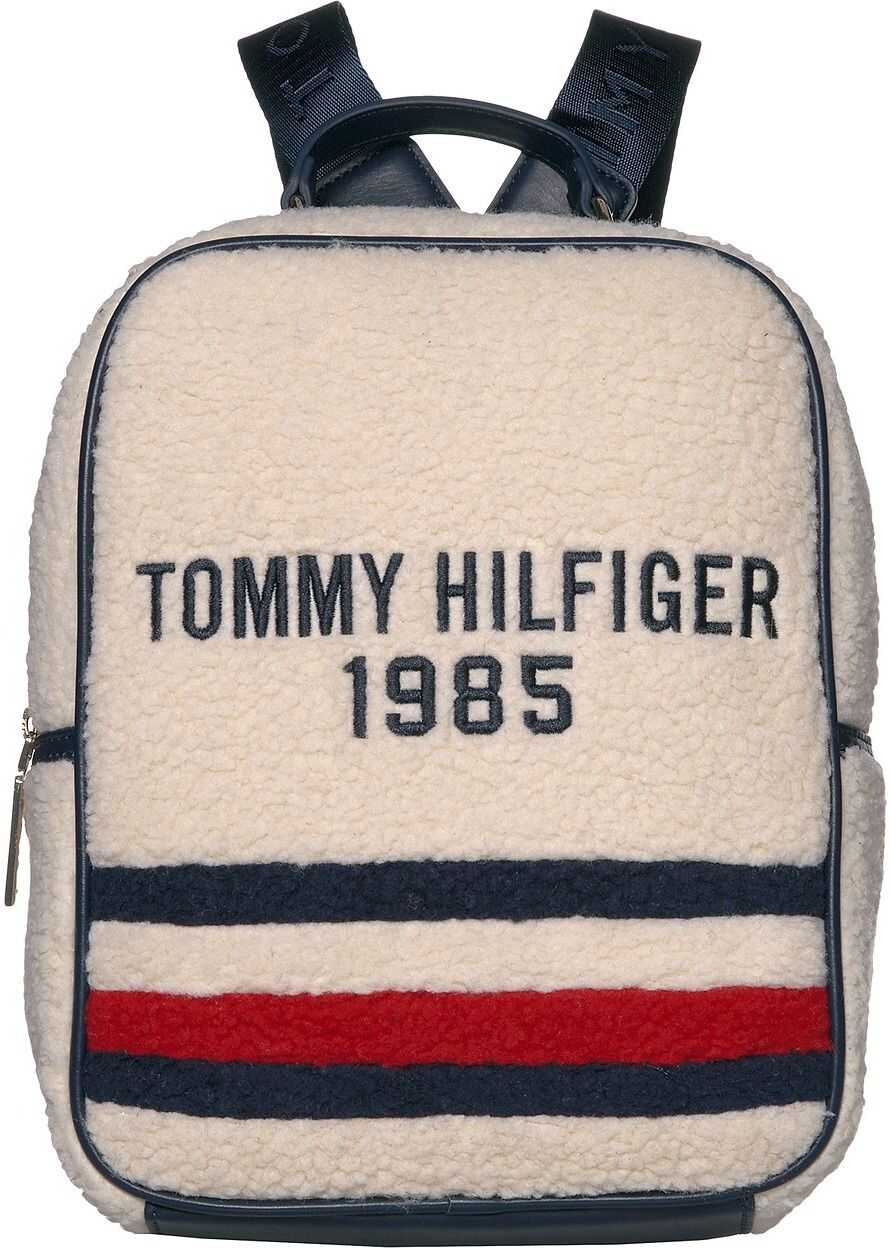 Tommy Hilfiger Sidney Shearling Backpack Natural
