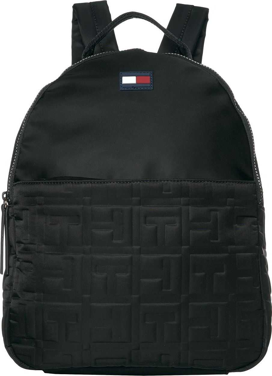 Tommy Hilfiger Jules Smooth Nylon Backpack Black
