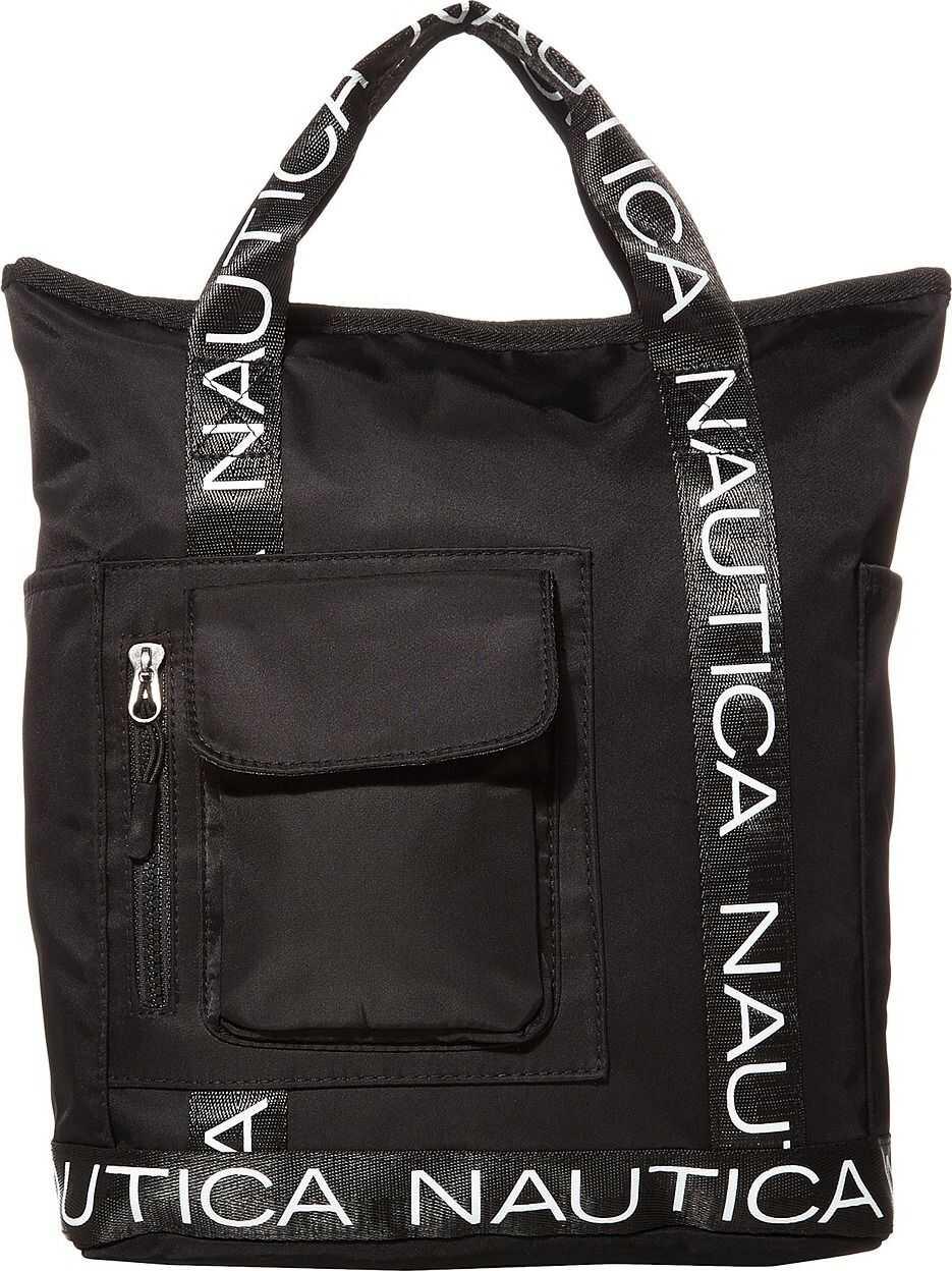 Nautica Bean Bag Convertible Backpack Black/Black