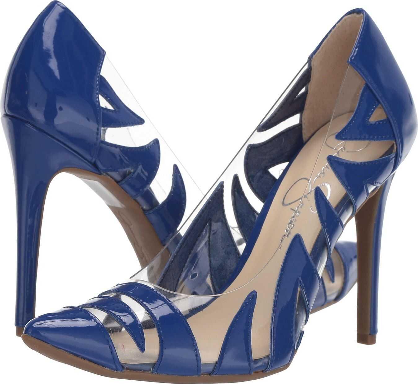 Jessica Simpson Palmra Blue/Violet Super Patent