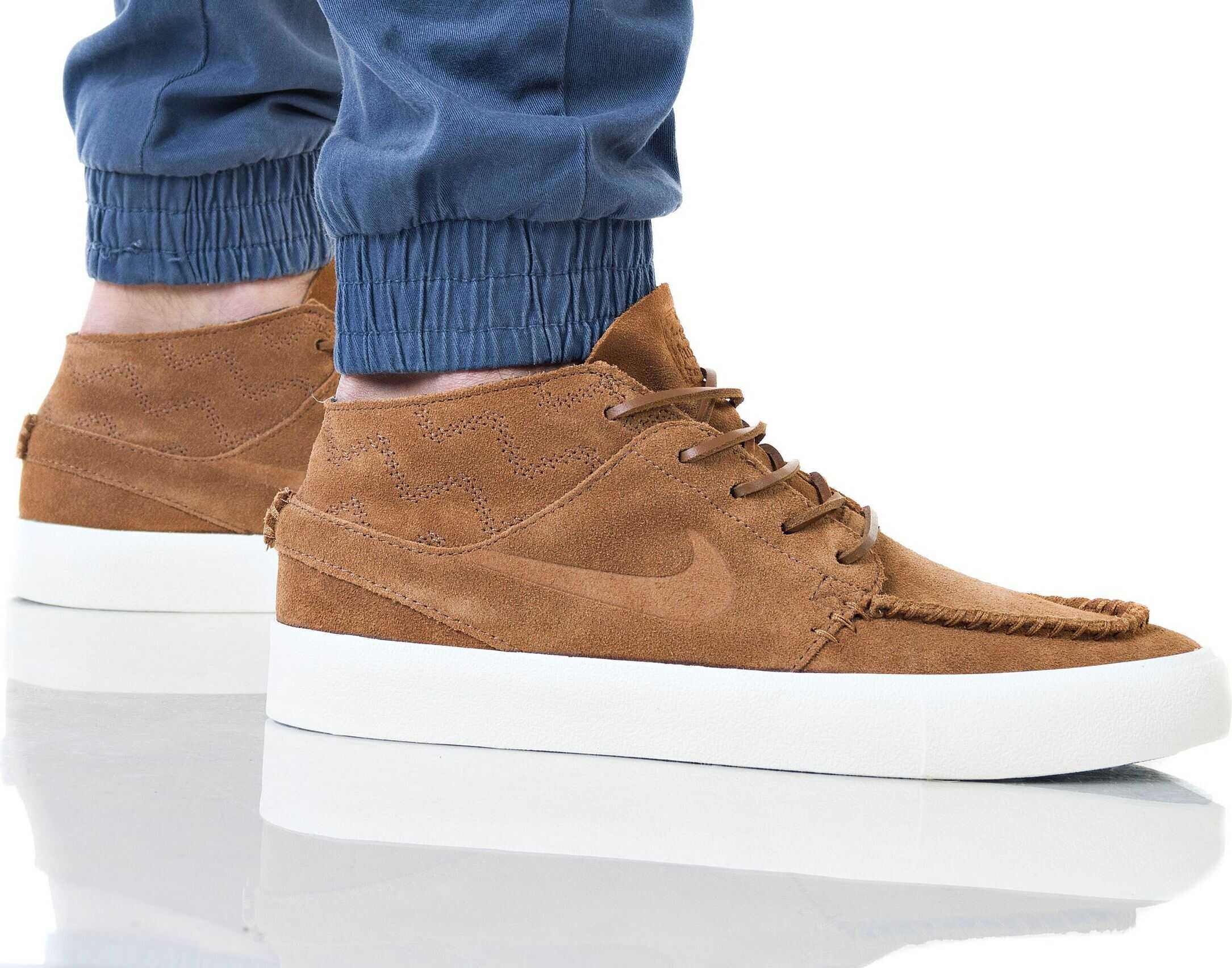Nike ZOOM JANOSKI MID RM CRAFTED Maron