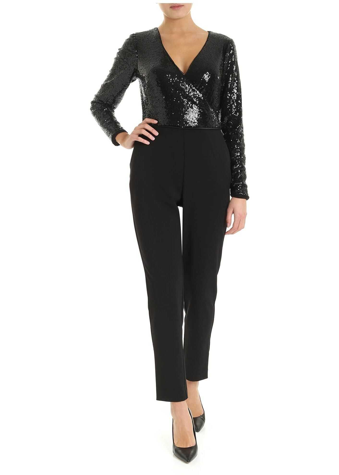 Suit In Black Swith Sequined Top thumbnail