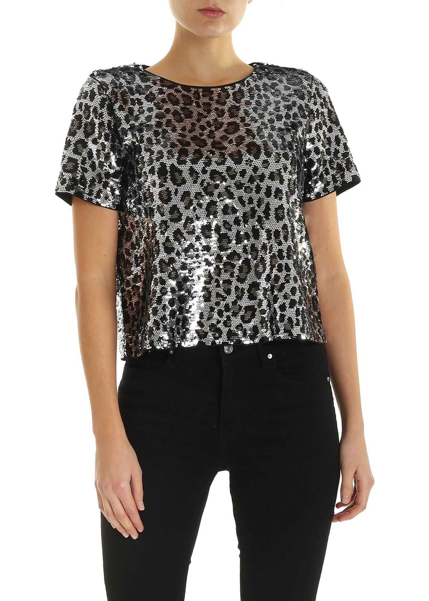 Michael Kors Sequinedwith Animal print