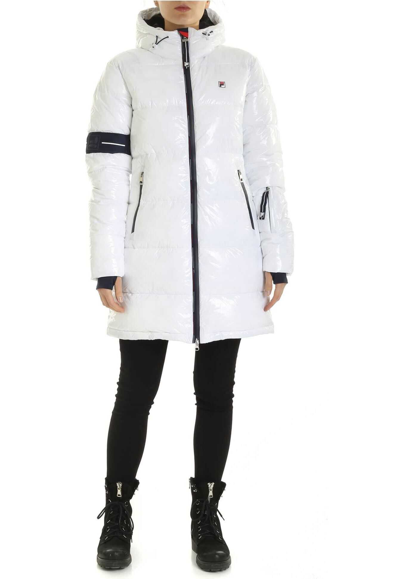 Fila Sakura Down Jacket In White White