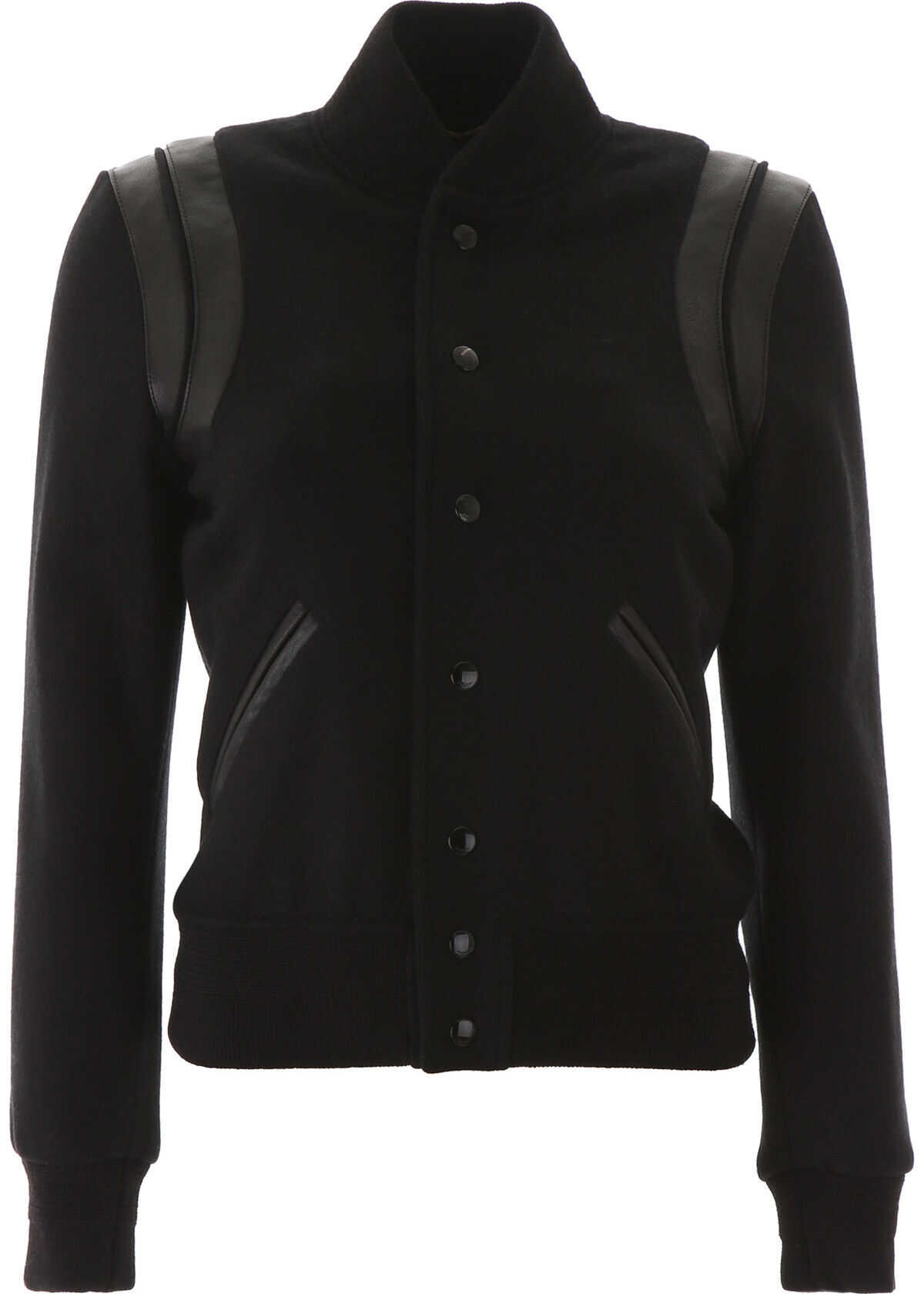 Saint Laurent Teddy Jacket NOIR